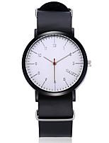 Hombre Mujer Reloj de Vestir Reloj de Moda Reloj de Pulsera Reloj creativo único Reloj Casual Chino Cuarzo Piel Banda Bohemio Cool Casual