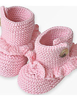 Baby Shoes Cotton Spring Fall Comfort First Walkers Flats For Casual Light Blue Blushing Pink Beige