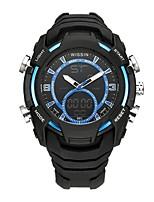 Муж. Спортивные часы Наручные часы Повседневные часы электронные часы Swiss Цифровой LED Секундомер С двумя часовыми поясами Хронометр