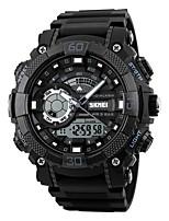 skmei homens relógios desportivos levou digital duplo exibição relógios de pulso cronógrafo alarme 50m relogio masculino 1228