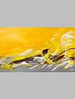 Ручная роспись Абстракция Художественный Абстракция На открытом воздухе 1 панель Холст Hang-роспись маслом For Украшение дома