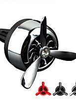 estilo del coche fuerza aérea 3 acondicionador de aire perfumes del ventilador refrescante del aire sólida fragancia coche aromático