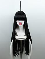 Pelucas de Cosplay Cosplay Cosplay Animé Pelucas de Cosplay 80 CM Fibra resistente al calor Mujer