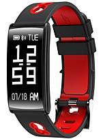hhy nuovo hm68 wristband intelligente pressione sanguigna sangue ossigeno frequenza cardiaca esercizio addominale monitoraggio sms