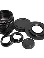 35 millimetri f1.7 c montaggio c-mount cctv obiettivo c-m43 micro 4/3 adattatore macro anello regalo lf012
