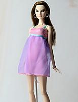 Vestidos Vestido por Muñeca Barbie  Vestido por Chica de muñeca de juguete