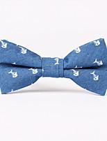Homme Cravate Rayonne Mélange de Coton Cravate,Imprimé Toutes les Saisons