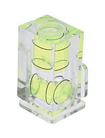 andoer dimension 2 axes double caméra bulle d'esprit niveau équilibre balle hot mount pour canon nikon panosonic olympus sony mi dslr