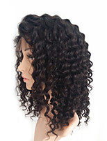 130% Density Lace Front Human Hair Wigs For Black Women Curly Brazilian Virgin Hair Wig With Baby Hair Sunny Queen