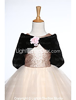 Kids' Wraps Capelets Faux Fur Wedding Party/ Evening Flower