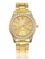 Жен. Нарядные часы Модные часы Уникальный творческий часы Наручные часы Китайский Кварцевый сплав Группа Повседневная Серебристый металл