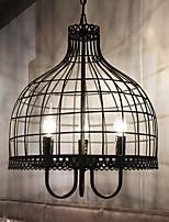Американский творческий birdcage люстра промышленные ветер восстановление древние пути кованое железо сеть кафе ресторан одежда магазин