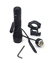 LED Flashlights/Torch LED 280 Lumens 1 Mode - 18650 Portable Remote Control Hunting