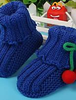 Дети обувь Ткань Весна Осень Удобная обувь Обувь для малышей На плокой подошве Назначение Повседневные Желтый Красный Синий Розовый
