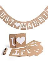 Картон Свадебные украшения-1 шт. Свадьба Для праздника / вечеринки