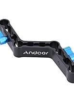 andoer palancas ajustables z-formada compensador raiser abrazadera de montaje para varillas de 15 mm en dslr hombro plataforma