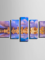 Canvas Print Five Panels Canvas Vertical Print Wall Decor For Home Decoration