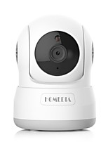 homedia® 720p 1.0mp wireless telecamera wifi rilevamento di movimento pan / tilt due way audio monitor visione notturna