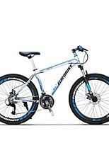 Mountain Bike Cycling 27 Speed 26 Inch/700CC MICROSHIFT TS70-9 Disc Brake Suspension Fork Aluminium Alloy Frame Anti-slip Aluminum Alloy