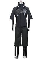 Ispirato da Tokyo Ghoul Ken Kaneki Anime Costumi Cosplay Abiti Cosplay Tinta unita Calzamaglia Cappotto Pantaloni Per Uomo Donna