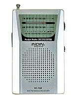 BC-R60 Radio portable Argent