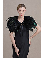 Women's Wrap Capelets Feather/Fur Wedding Party/ Evening