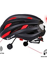 West biking Men's Women's Bike Helmet 16 Vents Cycling Cycling Skiiing Bike One Size M:55-58CM EPS PC