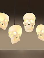 lâmpada pingente de halloween lâmpada 1 pcs lâmpada arte retro personalidade criativa restaurante bar loja de roupas iluminação lâmpadas e