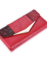 Damen Taschen Ganzjährig PU Unterarmtasche mit für Einkauf Normal Rote Beige Grau Kaffee Schwarz-rot