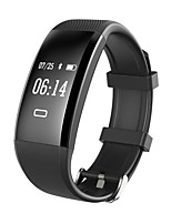 YY X4 Smart Bracelet Water Resistant / Calories Burned Pedometers Exercise Record Sports Heart Rate Monitor Touch for Ids Android