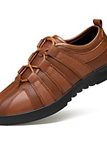 Для мужчин обувь Натуральная кожа Наппа Leather Кожа Осень Зима Удобная обувь Формальная обувь Обувь для дайвинга Туфли на шнуровке