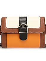 Women Bags All Seasons PU Shoulder Bag with Rivet for Outdoor Office & Career Brown Khaki