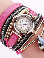 Жен. Спортивные часы Модные часы Часы-браслет Повседневные часы Имитационная Четырехугольник Часы Китайский Кварцевый Защита от влаги PU