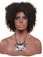 Women Synthetic Wig Capless Short Afro Jheri Curl Black African American Wig For Black Women Lolita Wig Party Wig Halloween Wig Carnival