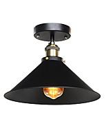 luz de teto industrial semi flush vintage metal 1 luz mini sala de jantar cozinha diâmetro da luz 30cm