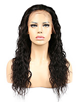 Women Human Hair Lace Wig Silk Base Full Lace Glueless Full Lace Full Lace Wigs 120% Density With Baby Hair Water Wave Wigs Brazilian Hair