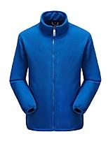 Homme Veste de Cyclisme Antidérapant Design Anatomique Respirabilité Résistant aux UV Zip totalement visible Anorak fleece / Polaires pour