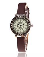 Жен. Нарядные часы Модные часы Наручные часы Китайский Кварцевый PU Группа С подвесками Повседневная Элегантные часы Черный Белый Синий