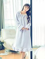 Pijama Mujer Franela de Lana