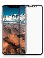 Vidrio Templado Protector de pantalla para Apple iPhone X Protector de Pantalla, Integral Alta definición (HD) Dureza 9H Borde Curvado