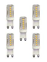 2.5W Luces LED de Doble Pin T 33 SMD 2835 210 lm Blanco Cálido Blanco AC 100-240 V G9