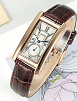 Women's Dress Watch Fashion Watch Chinese Quartz Leather Band Charm Cool Casual Brown