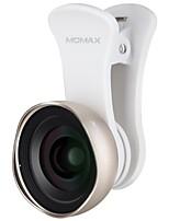 объективы для смартфонов momax 0.6x широкоугольный объектив для ipad iphone huawei xiaomi samsung