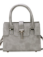 Women Bags All Seasons PU Shoulder Bag with for Casual Office & Career Blue Black Blushing Pink Gray