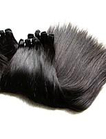 Человека ткет Волосы Бразильские волосы Прямые волосы ткет кг Пряди с быстрым креплением