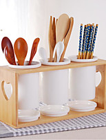 1 Kitchen Ceramic Flatware Organizers