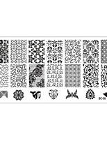 Стемпинг Пластины изображения шаблона Стампер скреперов
