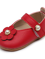 Baby Flats Comfort First Walkers Spring Fall Leatherette Casual Blushing Pink Red Beige Flat