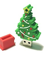 8gb natal usb flash drive cartoon criativo natal árvore natal presente usb 2.0