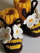 Дети обувь Орлон Весна Осень Удобная обувь Обувь для малышей На плокой подошве Назначение Повседневные Желтый